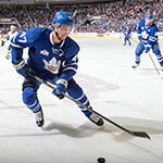 Pierre Engvall, professional hockey player, Toronto Maple Leafs